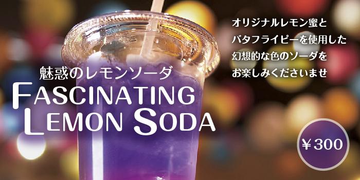 魅惑のレモンソーダ FASCINATING LEMON SODA